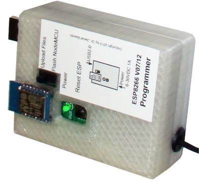 ESP8266 NodeMCU programmer